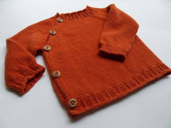 Schlüttli-Cardigan for Babies 3-6 month