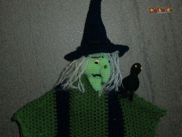 Hexe häkeln // gruselige Halloween-Deko / DIY
