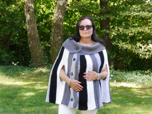 H kelanleitung poncho unisize herbst design no 1 for Boden preview herbst 2016
