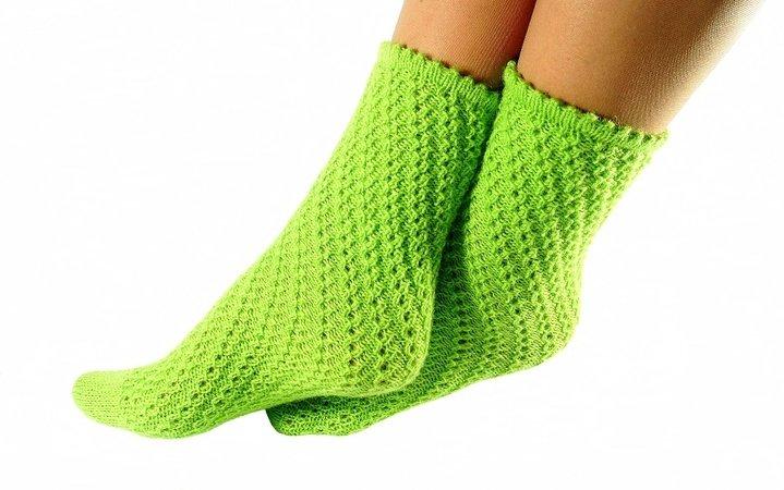 Socken Stricken Ohne Ferse Kettenmuster