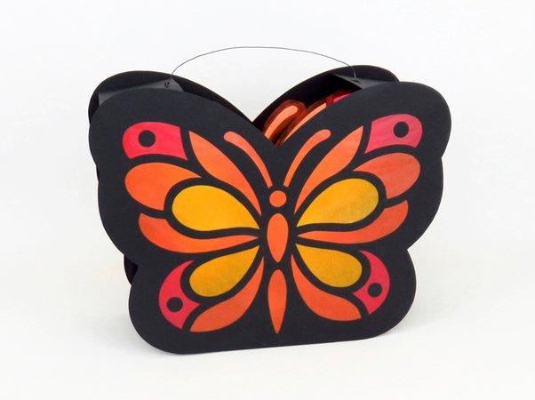 "St. Martins-Laterne ""Schmetterling"""