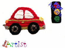 Car crochet Applique Pattern