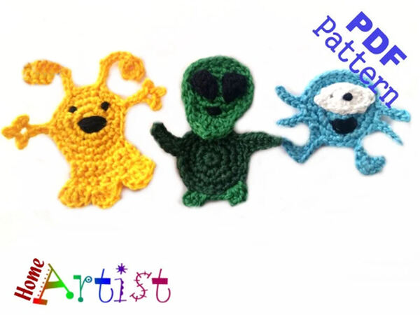 Xenomorph Knitting Pattern : Crochet Xenomorph ~ Creatys for