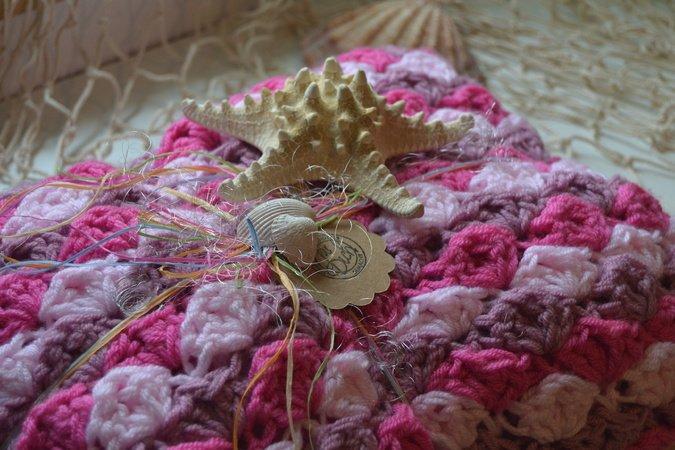 Meerjungfrauen-Decke häkeln // alle Größen