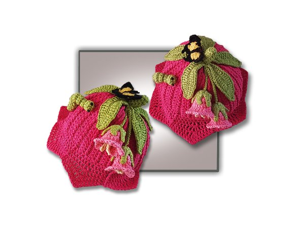 9e4827a6e12446 Pink Lily Hat (Birth to Teen plus)