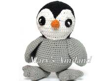 Caesar Baby Penguin The Ami - Amigurumi Crochet Pattern