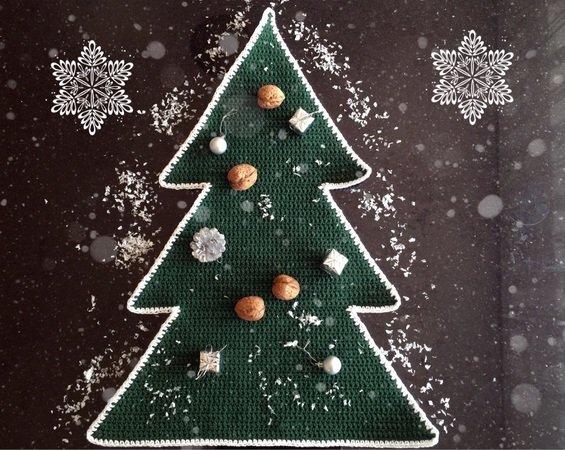 Tischläufer Häkelntischdeko Für Weihnachten