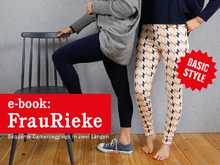 FrauRieke - Damenleggings in zwei Längen XS-XXL