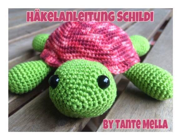 Gratis Schildkröte Häkeln Ca 20cm Groß