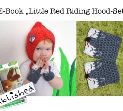"E-Book ""Little Red Riding Hood-Set"" size newborn up to 2 years"