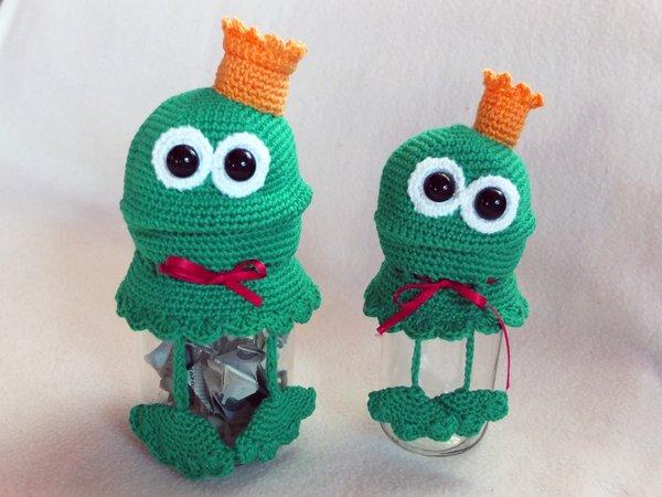 Geldgeschenk Frosch Ein Paar Kroten