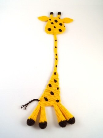 Giraffe Häkeln Lesezeichen Highlight Deko