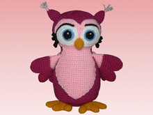 Crochet Pattern Eulora the owl