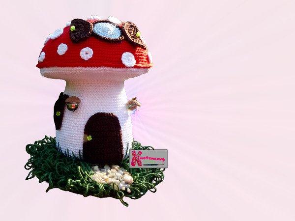 Super Mario Mushroom pattern - Amigurumino | 450x600