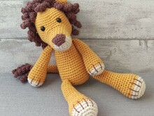 Crochet Pattern Lion