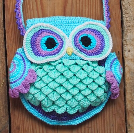Owl Bag Blue Dreams