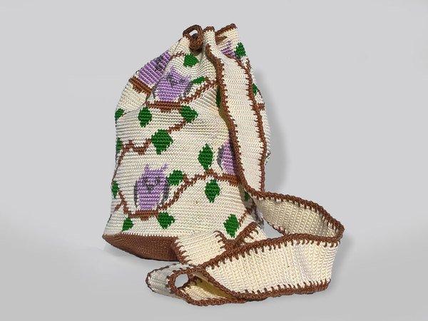 Mochila mit Eulen häkeln // Tapestry häkeln