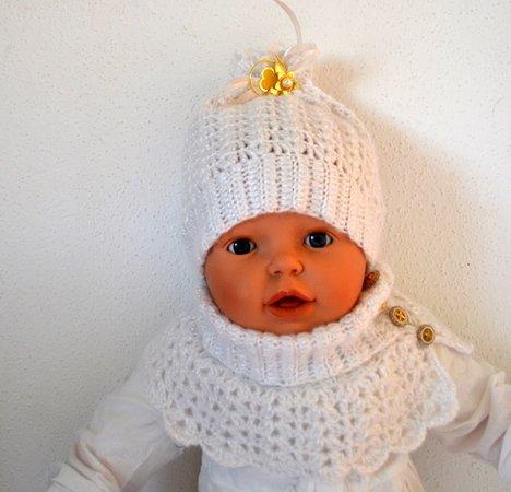 Set Mütze ++ Loop für Babys und Kinder häkeln