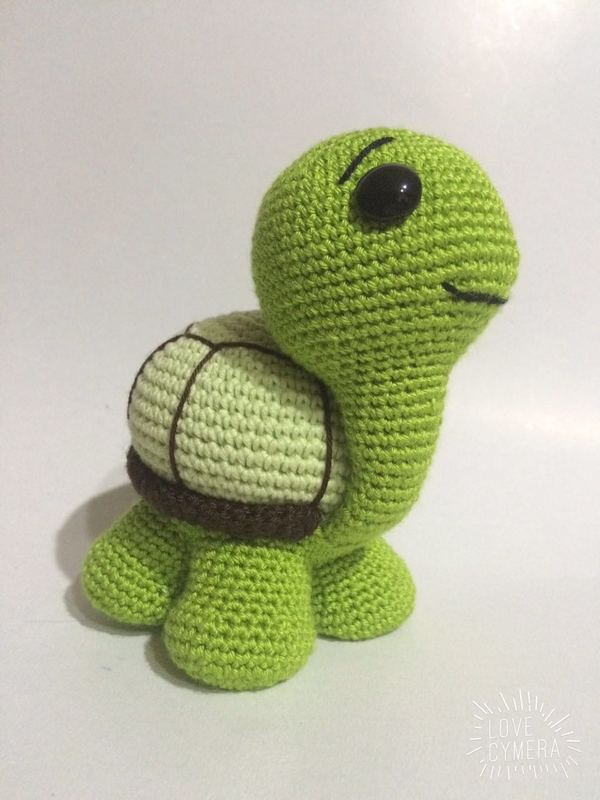 Amigurumi Turtle Crochet Patterns : Crochet pattern cute turtle amigurumi pdf
