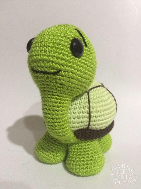Crochet Pattern Cute Turtle Amigurumi PDF