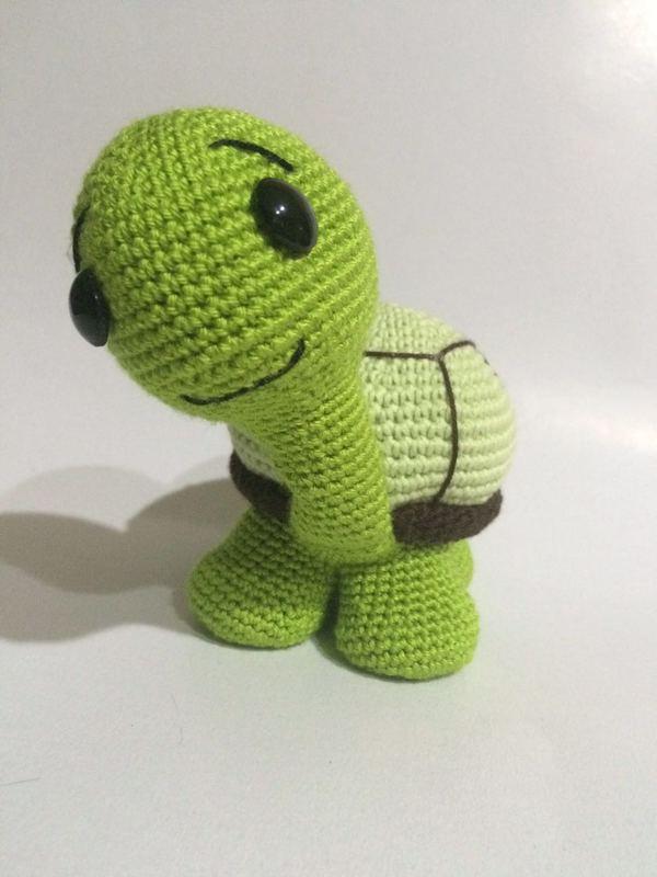 Amigurumi Turtle : Crochet Pattern Cute Turtle Amigurumi PDF