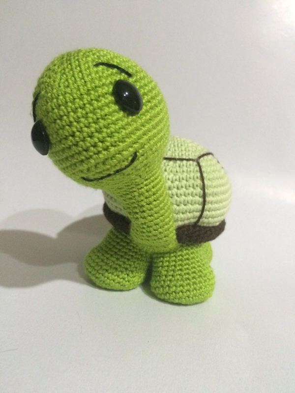 Amigurumi Crochet Turtle : Crochet Pattern Cute Turtle Amigurumi PDF