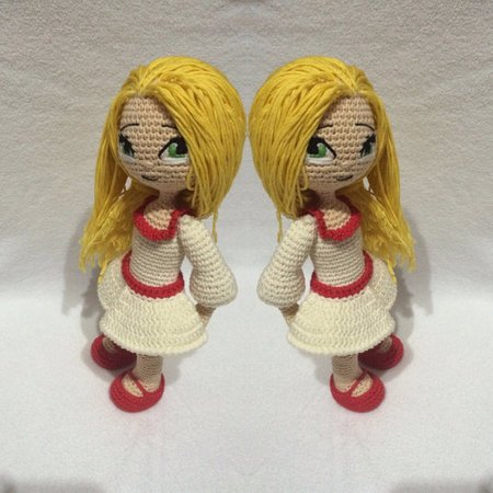 Mini Me Boy & Girl Amigurumi Crochet Custom Dolls, for Boyfriend ... | 450x450