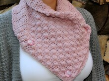 "crochet pattern shawl collar ""ball pattern"""