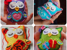 4 сrochet owl patterns: Design Discount Pattern Package