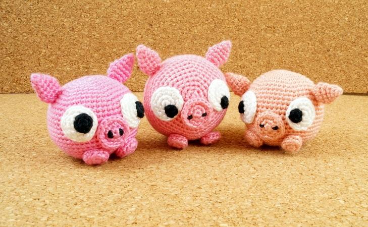 Glücksschwein Häkeln Wollreste Verwenden