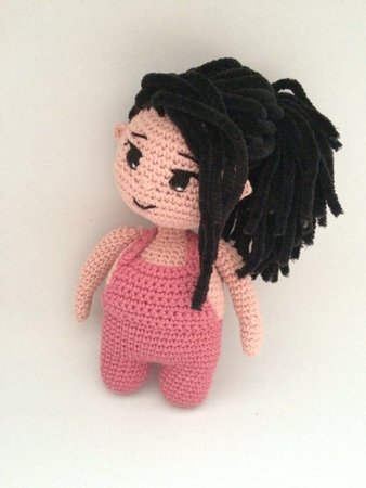Buy Crochet Artwork Amigurumi Handmade Girl Bunny Soft Toy33cms ... | 450x338