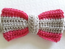 Bow Headband MĖTA crochet pattern