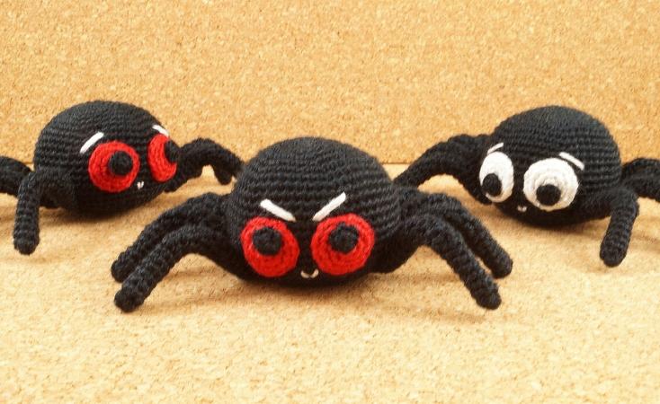 Witzige Spinne Einfach Und Ohne Draht Häkeln