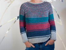 Josie - top down circular yoke sweater