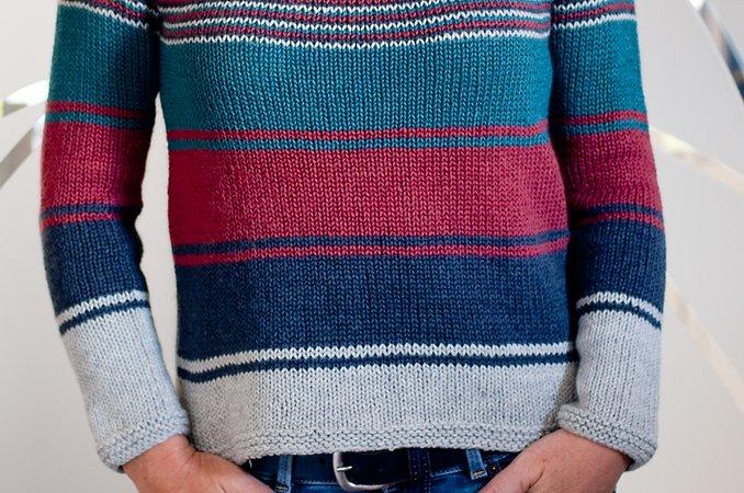 e99819a0c Josie - top down circular yoke sweater