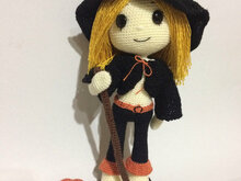Amigurumi Cute Witch Wendy - PDF Pattern