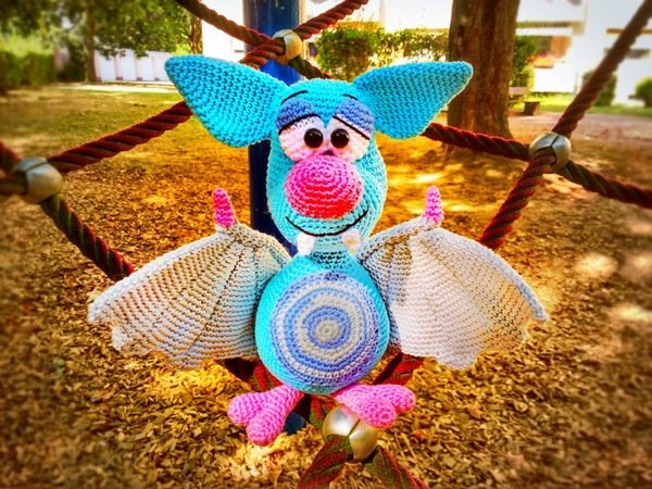 Crochet Pattern Bat - Dragon Bat - english
