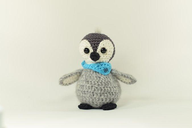 Pinguin Häkeln Super Süßer Babypinguin