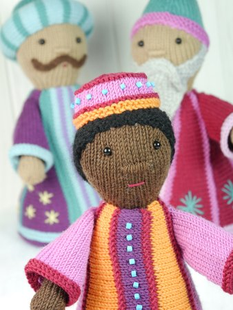 Three Wise Men / Star Singers / knitting pattern