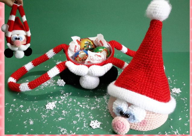 Weihnachtsmann Häkeln Tolle Weihnachtsmütze