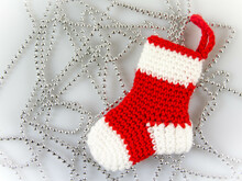 Amigurumi Christmas Socks Ornaments Crochet Pattern