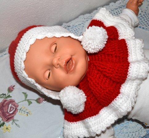 Häkelanleitung * Nikolaus Set * Baby * Weihnachtsmann * Gr. 0 - 6 Monate