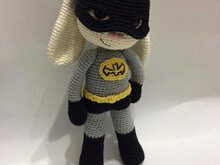 Bat Hero Bunny Amigurumi PDF Pattern - Beginner