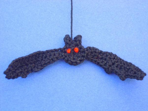 "Crochet instructions ""Friedolin"" the bat"