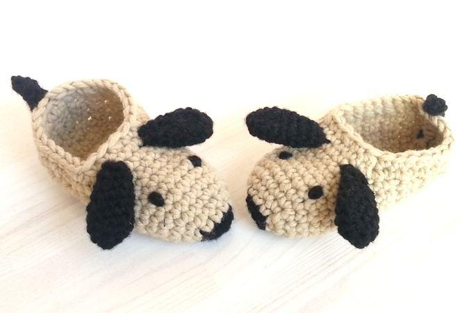 be899bd859730 Crochet Pattern Children Slippers