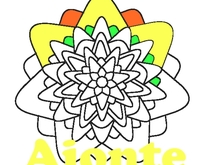 Mandala - Blume - Ausmalbild - Window Color