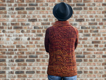 Inga - Turtle-neck sweater with cables