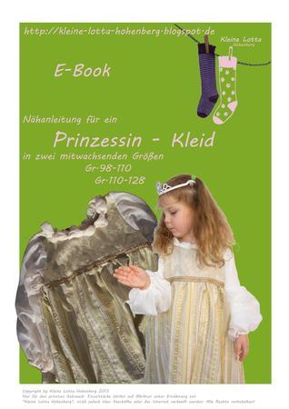 E-Book Aschenputtel Prinzessin Kleid Faschingskostüm