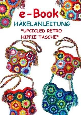 E Book Upcicled Retro Hippie Tasche Häkelanleitung Pdf Datei