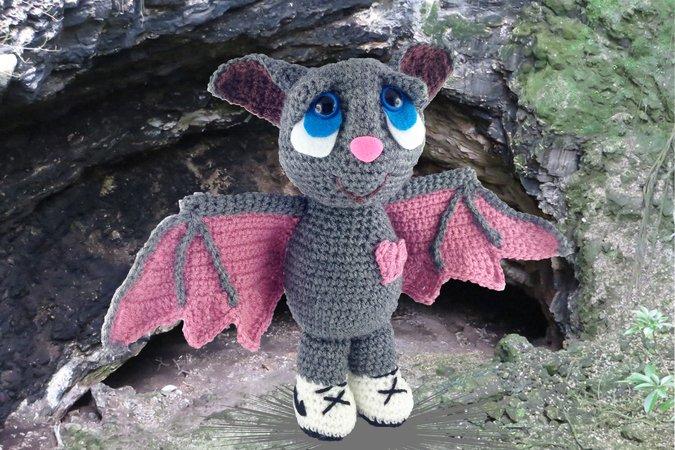 Shadow Die Kleine Fledermaus Häkelanleitung Amigurumi Häkeln Pdf